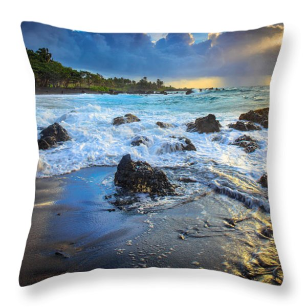 Maui Dawn Throw Pillow by Inge Johnsson