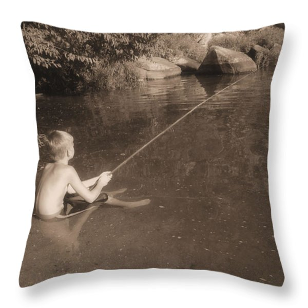 Mayberry Throw Pillow by JC Findley