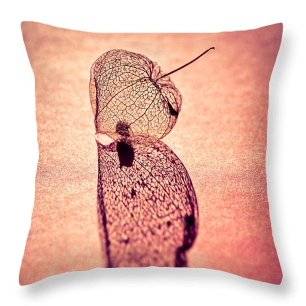 Me And My Shadow Throw Pillow by Jan Bickerton