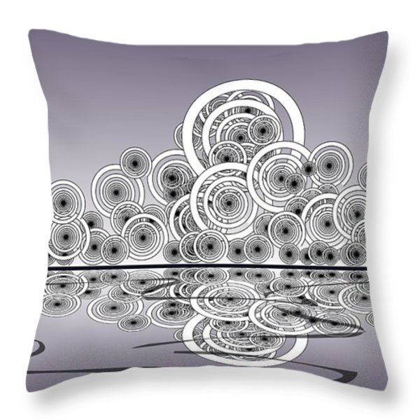 Mechanical Spirits Throw Pillow by Anastasiya Malakhova