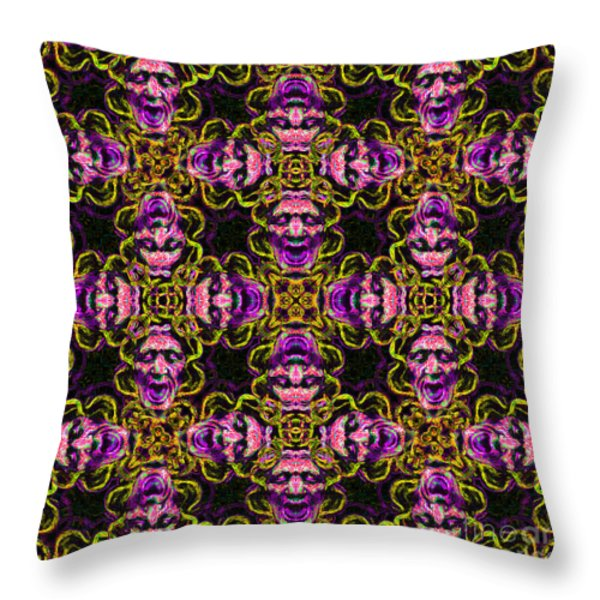 Medusa Abstract 20130131m138 Throw Pillow by Wingsdomain Art and Photography