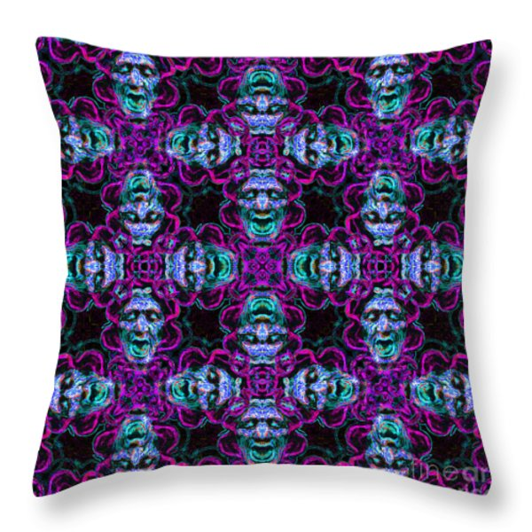 Medusa Abstract 20130131m180 Throw Pillow by Wingsdomain Art and Photography