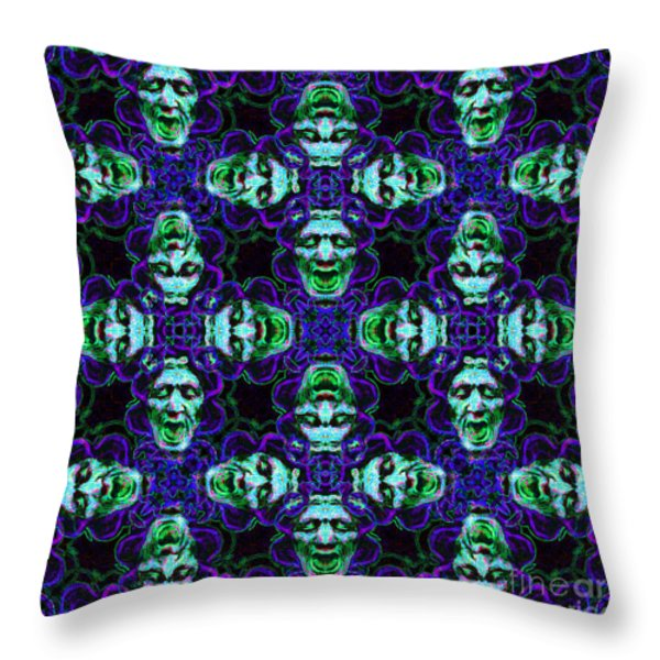 Medusa Abstract 20130131p138 Throw Pillow by Wingsdomain Art and Photography
