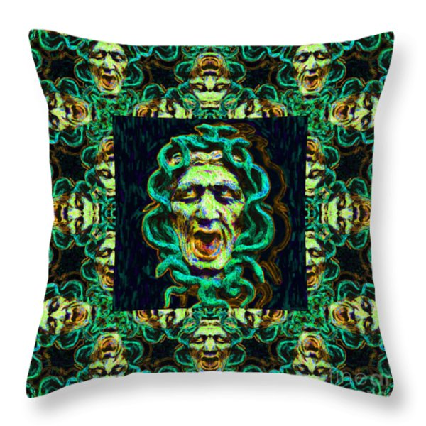 Medusa's Window 20130131p38 Throw Pillow by Wingsdomain Art and Photography