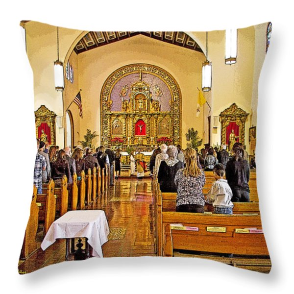 Memorial Throw Pillow by Chuck Staley