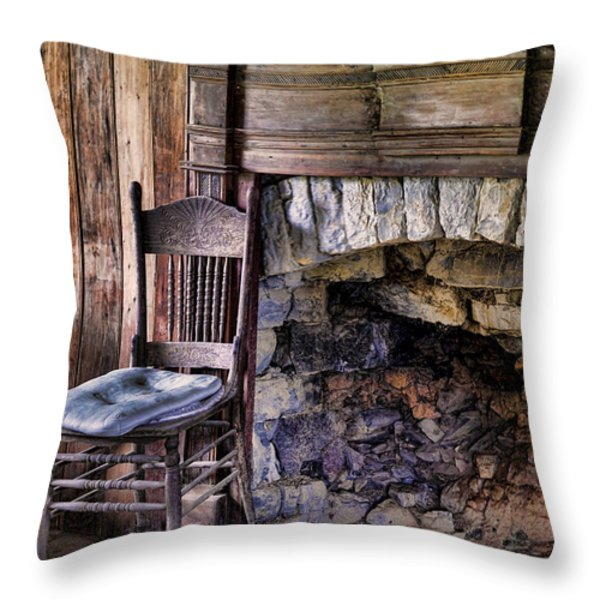 Memories Throw Pillow by Heather Applegate