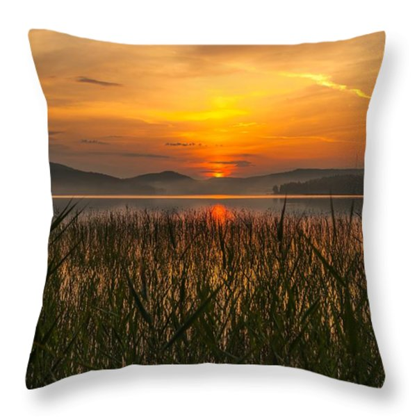 memories of a sunset 2 Throw Pillow by Rose-Maries Pictures