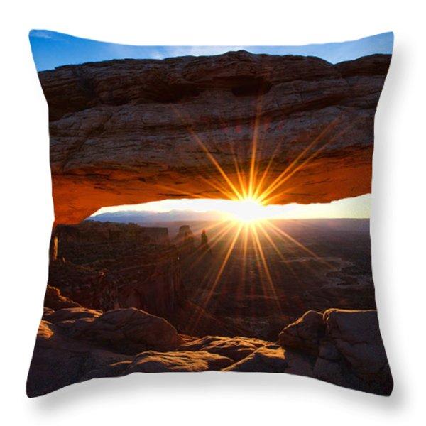 Mesa Sunrise Throw Pillow by Chad Dutson