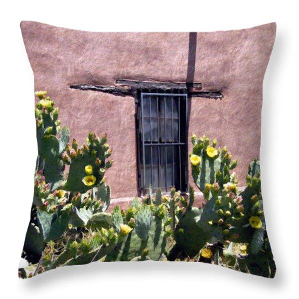 Mesilla Bouquet Throw Pillow by Kurt Van Wagner