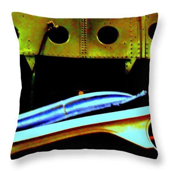 Metallica Throw Pillow by Randall Weidner