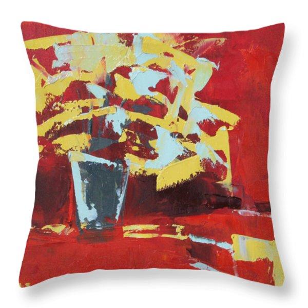Midnight Throw Pillow by Becky Kim
