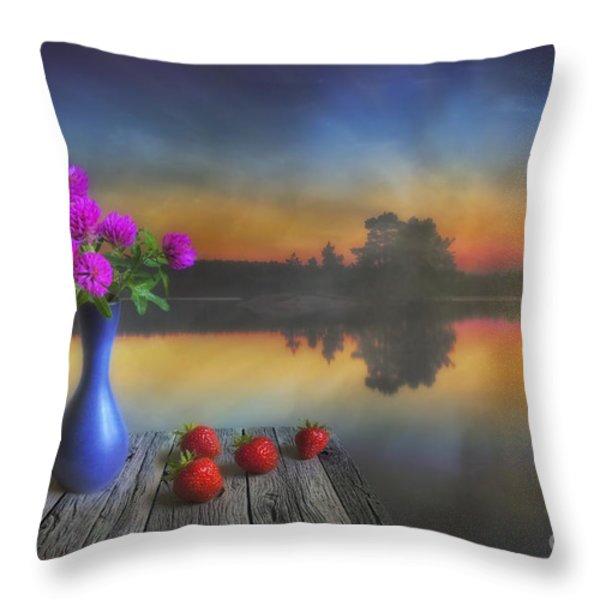 Midsummer Throw Pillow by Veikko Suikkanen