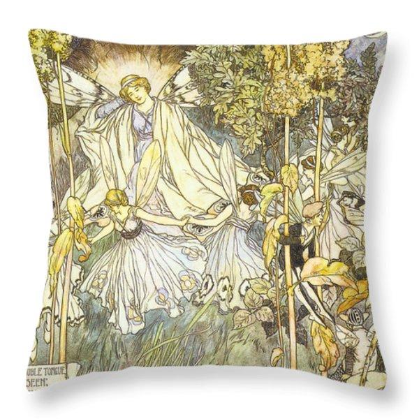 Midsummer's Night Dream Throw Pillow by Stephene Reid