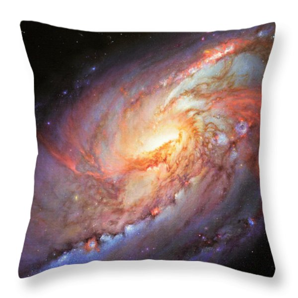 Mighty M106 Throw Pillow by Lucy West
