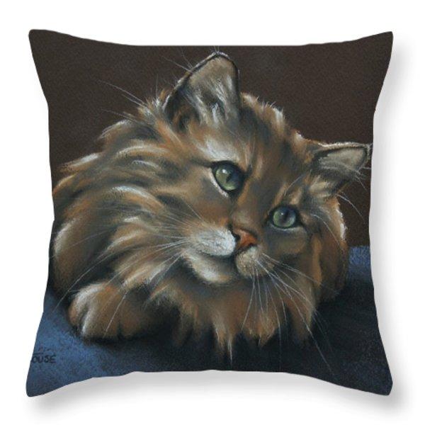 Miko Throw Pillow by Cynthia House