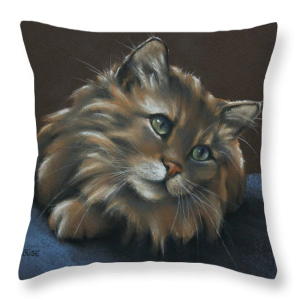 Miko Throw Pillow by Cynthia House