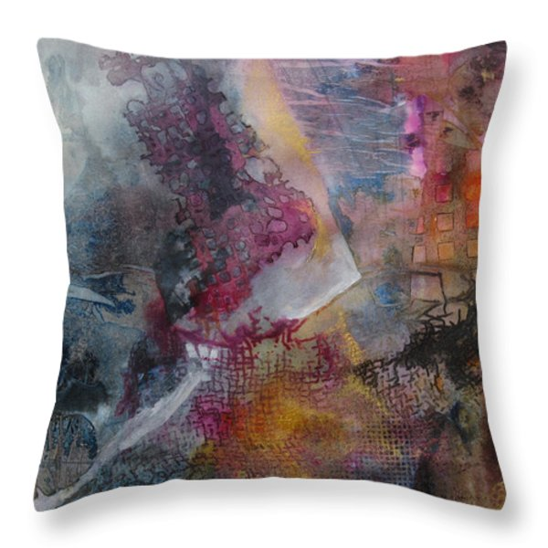 Mindscape Throw Pillow by Marilyn Woods