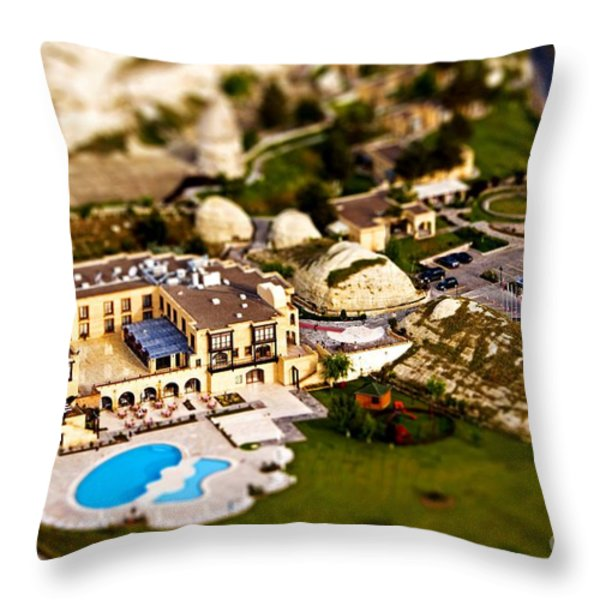 Mini Getaway Throw Pillow by Andrew Paranavitana