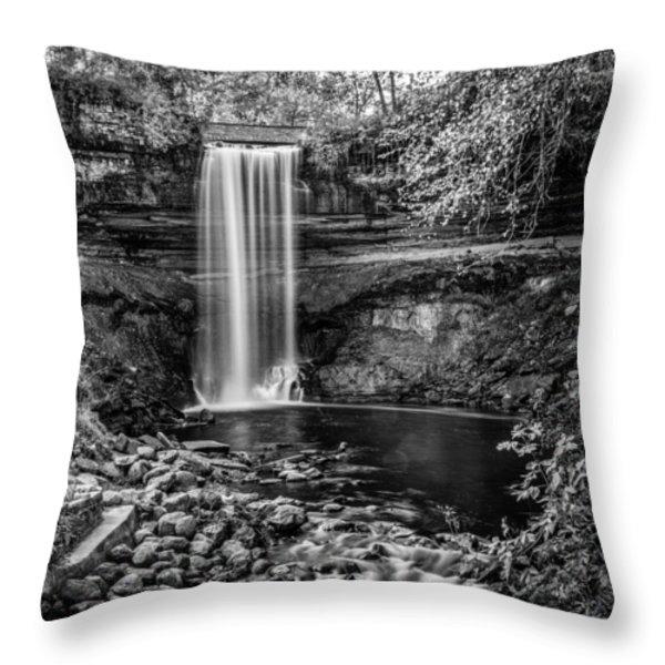 Minnehaha Falls Throw Pillow by Paul Freidlund