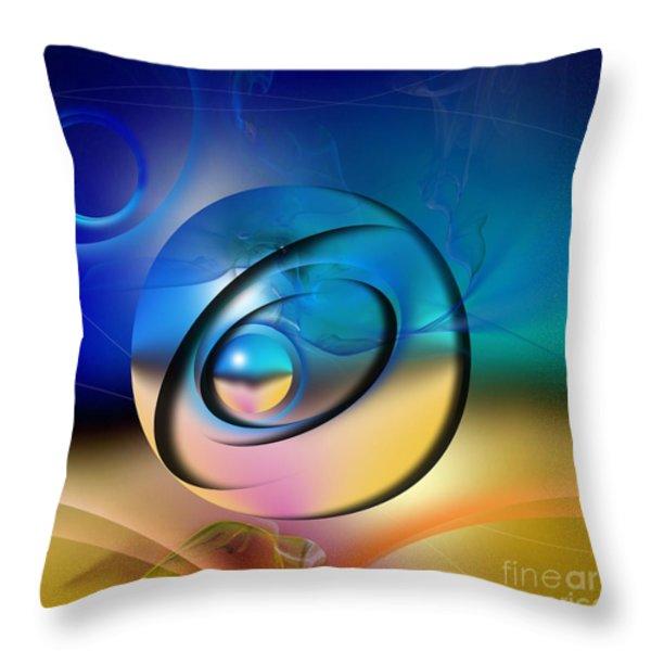 Mirage Throw Pillow by Franziskus Pfleghart