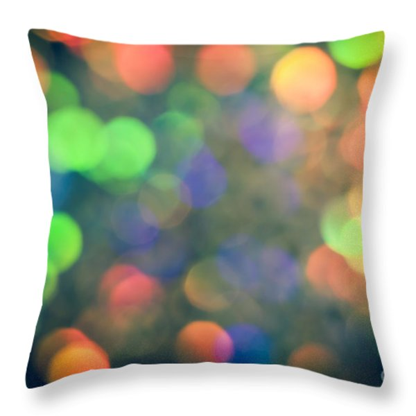 Mirage Throw Pillow by Jan Bickerton