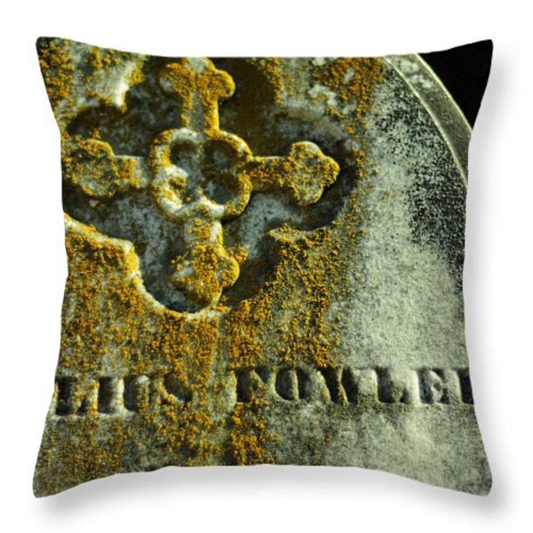 Mister Cyrilius Fowler Throw Pillow by Rebecca Sherman