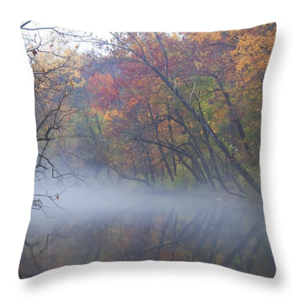 Mists Of Time Throw Pillow by Bill Cannon