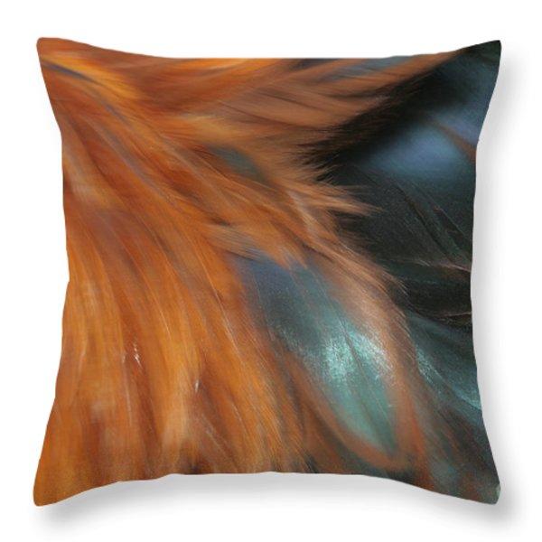 Moa Kane O Kula Throw Pillow by Sharon Mau