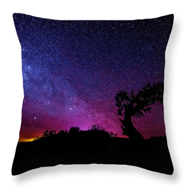 Moab Skies Throw Pillow by Chad Dutson