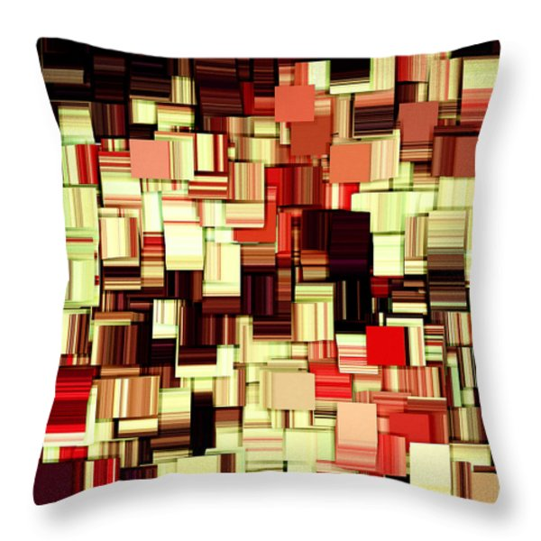 Modern Abstract Art XVII Throw Pillow by Lourry Legarde