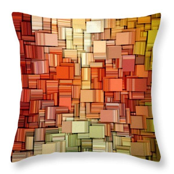 Modern Abstract VIII Throw Pillow by Lourry Legarde