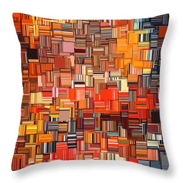 Modern Abstract Xxxi Throw Pillow by Lourry Legarde