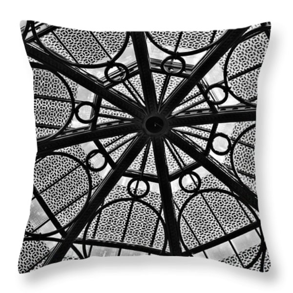 MODERN GEOMETRY Throw Pillow by Charles Dobbs