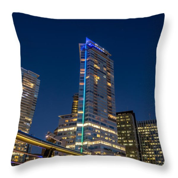 Modern Lines - by Sabine Edrissi Throw Pillow by Sabine Edrissi