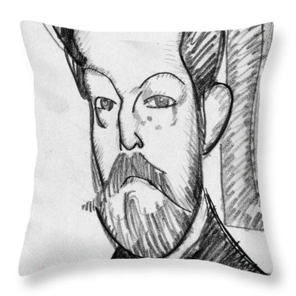 Modigliani - Paul Alexander Throw Pillow by Granger