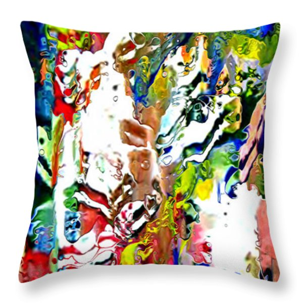 Moment Of Happiness Throw Pillow by Kume Bryant