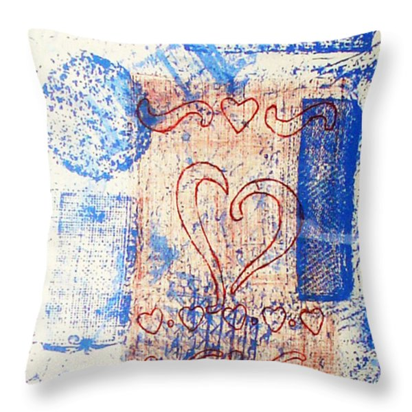 Moment Of Truth Throw Pillow by Yael VanGruber