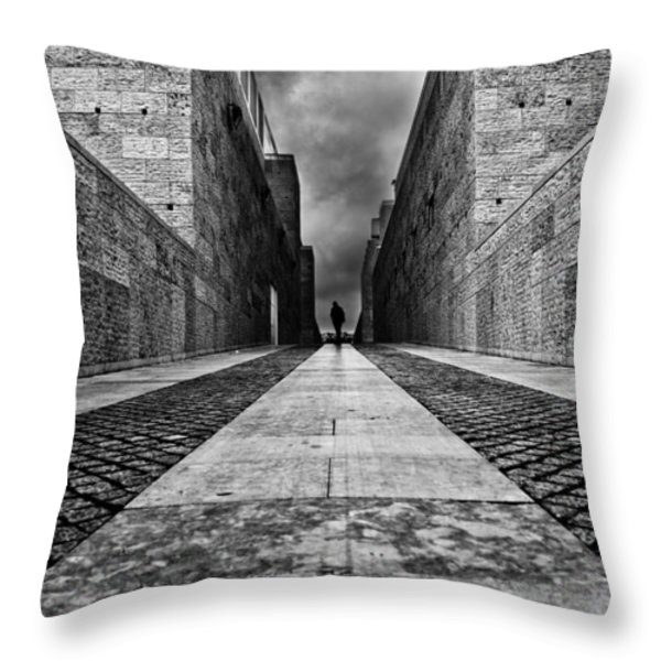 Moments Throw Pillow by Jorge Maia