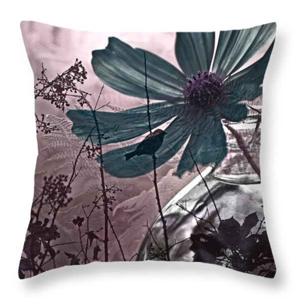 Moments Recaptured Throw Pillow by Bonnie Bruno