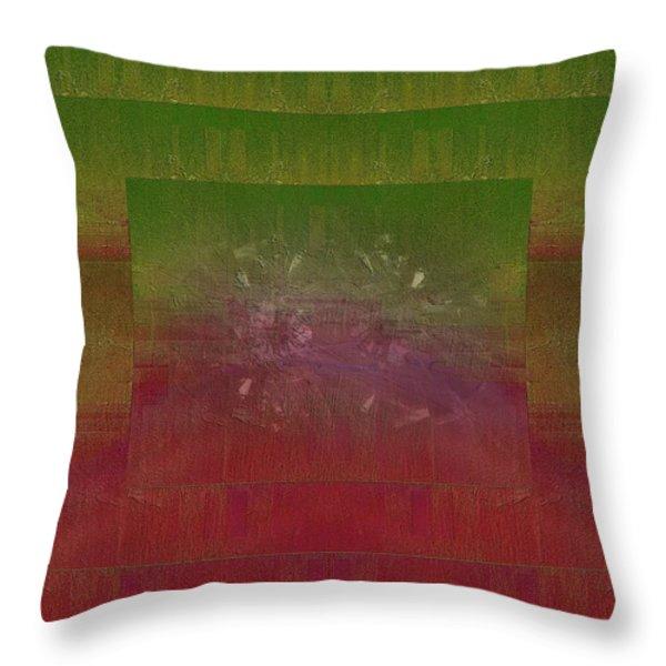Momentum Throw Pillow by Tim Allen