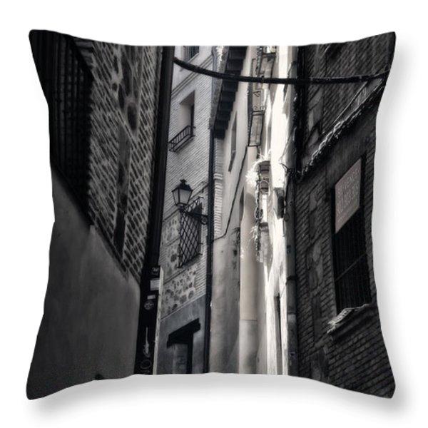Monday Monday Throw Pillow by Joan Carroll