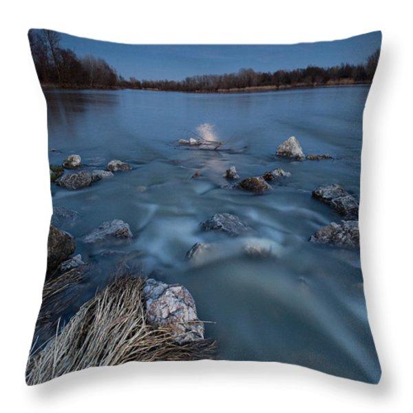 Moonlight sonata Throw Pillow by Davorin Mance