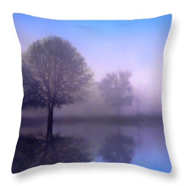 Moonlight Sonata Throw Pillow by Jessica Jenney