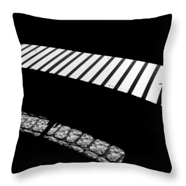 Moonlight Under The Highway Throw Pillow by Bob Orsillo