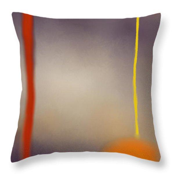 Moonlit Night II Throw Pillow by Anita Lewis