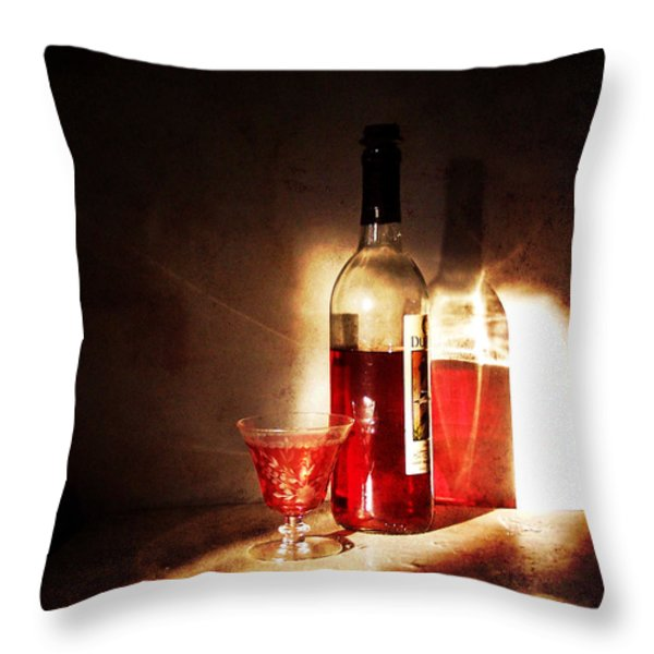 Morning and Night Throw Pillow by Deborah Smith