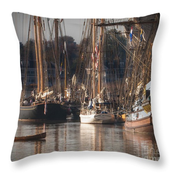 Morning Light - Chestertown Downrigging Weekend Throw Pillow by Lauren Brice