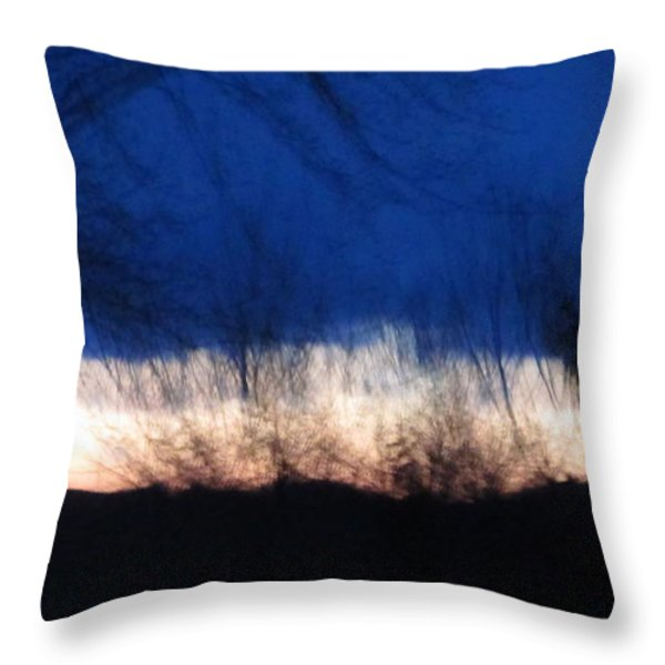 Mornings Love  Throw Pillow by Robert  Nacke