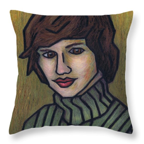 Mother Throw Pillow by Kamil Swiatek