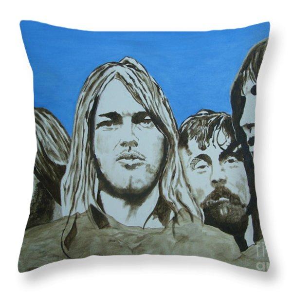 Mount Floydmore Throw Pillow by Stuart Engel